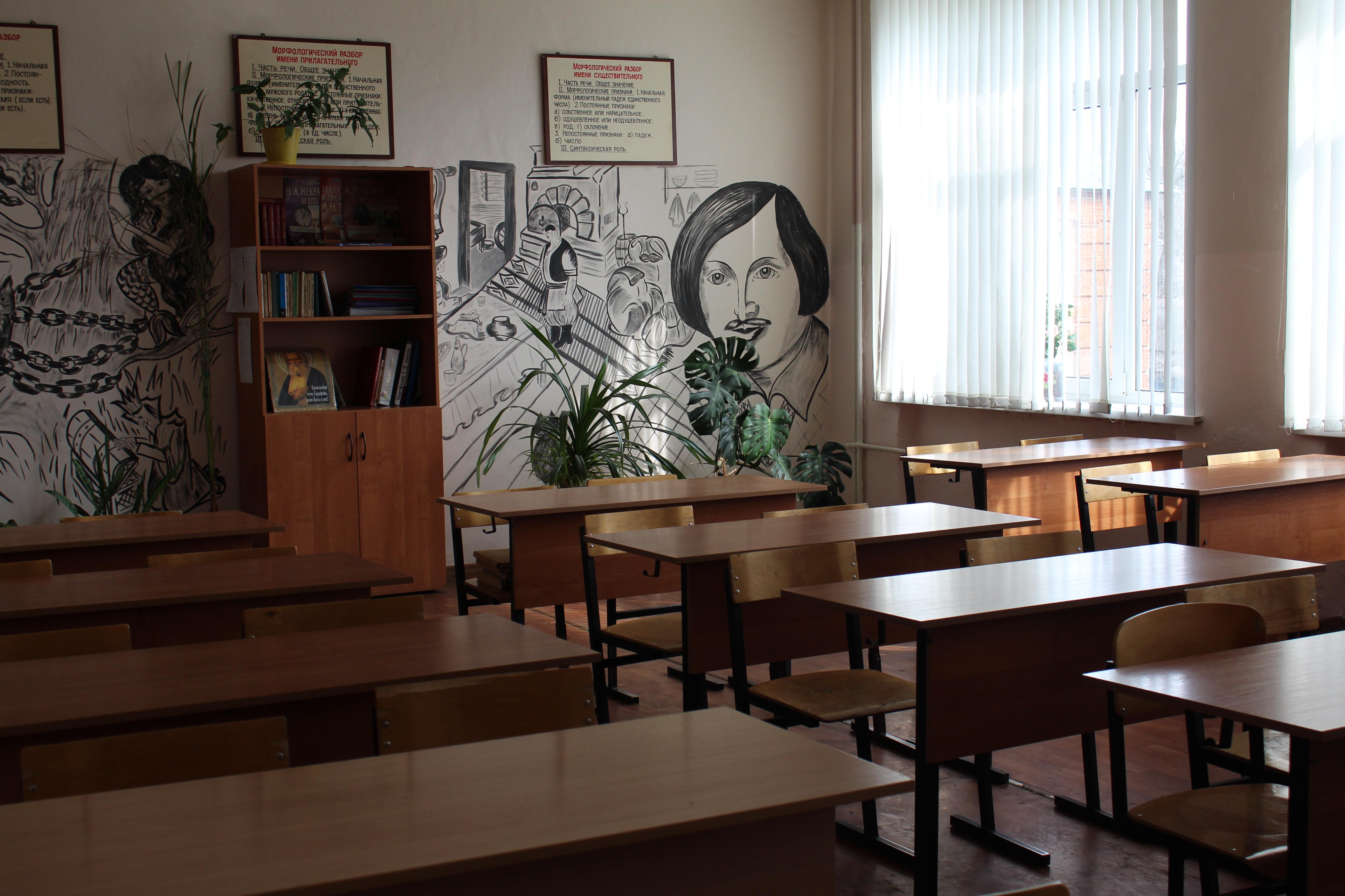 В классе урок на стене висит рисунок нина павловна спросила, днем рождения лейсан