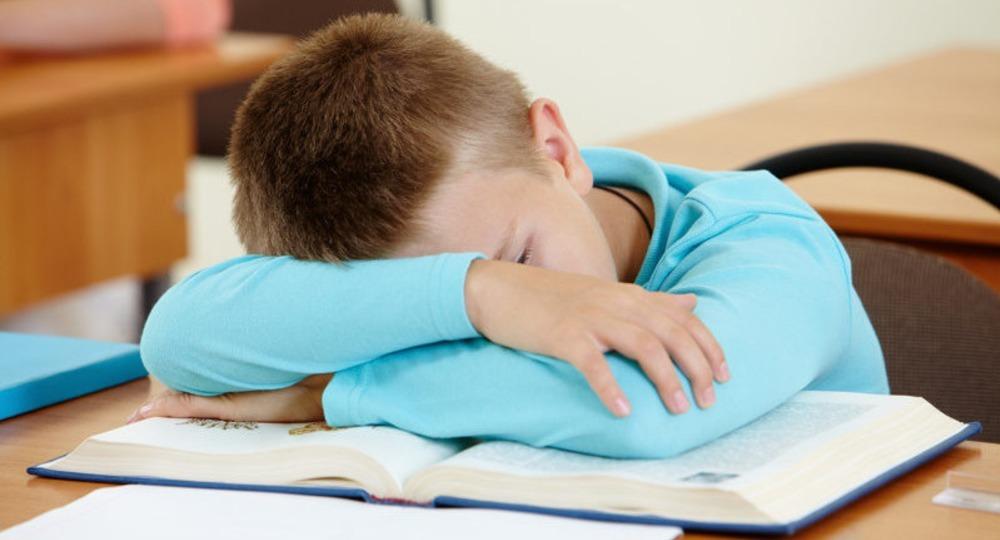 Спать на уроке картинка