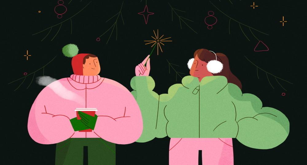 Как встретить Новый год в стиле Йоко Оно и Энди Уорхола