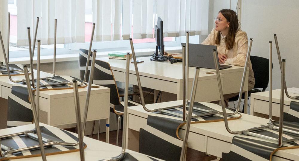 При каком условии московские школьники могут остаться на удалёнке