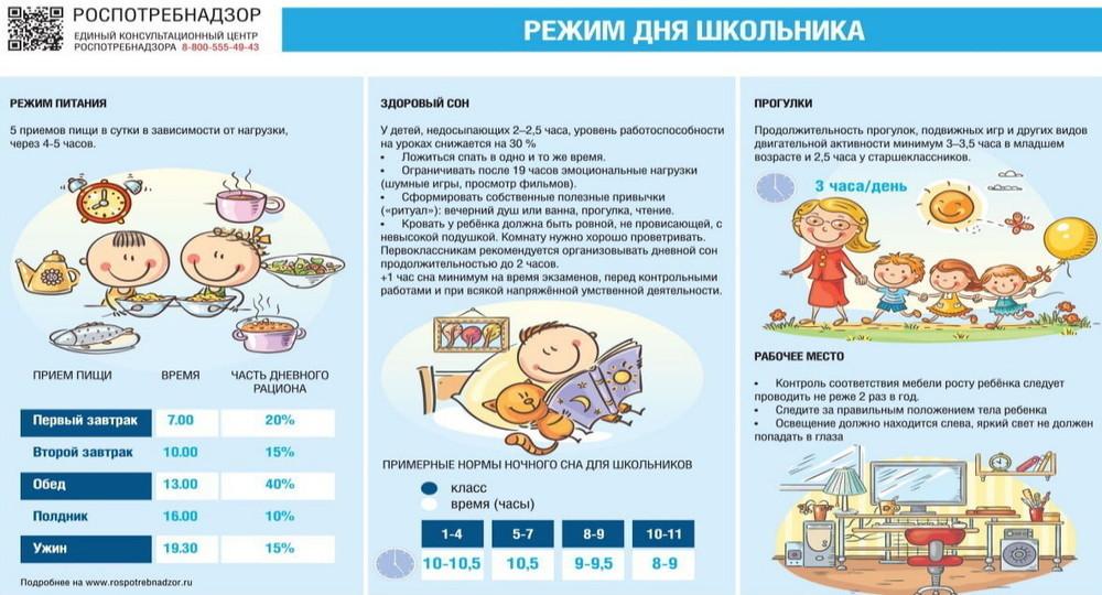 Верится с трудом: Роспотребнадзор выпустил рекомендации по организации дня школьника