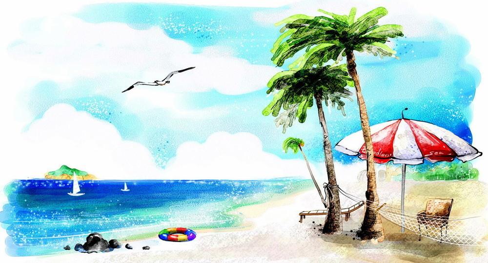 Школа в Испании перевела детей на «пляжное» обучение
