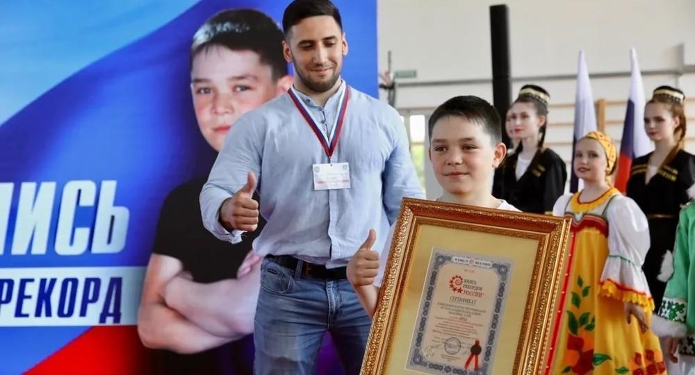 Третьеклассник из Югры отжался 5713 раз и установил мировой рекорд