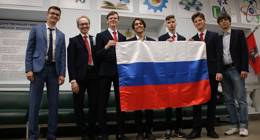 Российские школьники взяли четыре золотые медали на Международной химической олимпиаде